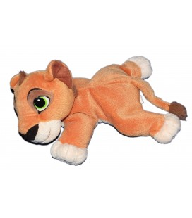 Doudou peluche LE ROI LION - Nala Kovu Simba marron - MATTEL Disney - L24 cm