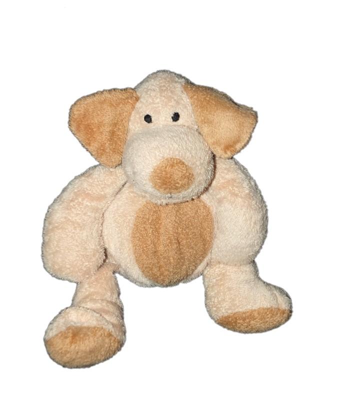 doudou peluche chien beige marron baby club 16 20 cm. Black Bedroom Furniture Sets. Home Design Ideas