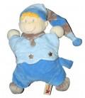 Doudou coussin semi-plat Lutin bleu NICOTOY Etoiles 579/7150