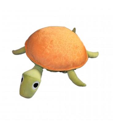Peluche TORTUE orange Vert Ikea L 50 cm Korall Skoldpadda