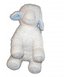 Doudou mouton agneau blanc Pediatril Avene eau Thermale 15 x 20 cm
