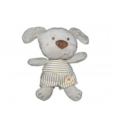 Doudou Chien gris Vêtir 16 cm