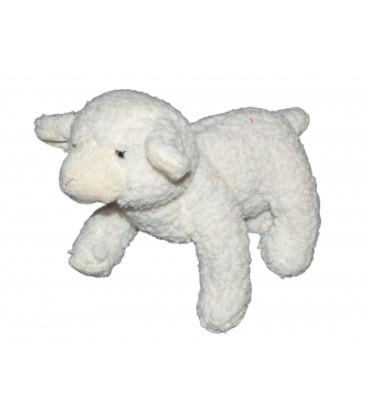 Doudou Peluche Mouton blanc NICOTOY 20x26cm 584/0681