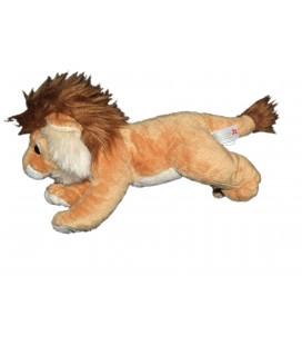 Doudou Lion beige allongé NICOTOY 26cm 585/6366