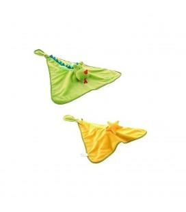 Lilliputiens Doudou Walter Le Dragon Reversible Comfort Blanket