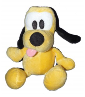 Doudou peluche PLUTO - Disney Nicotoy 587/1583 16/22 cm