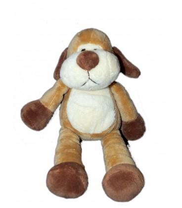 Doudou chien marron beige Nicotoy 27 cm 583/2981