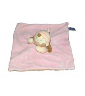 Doudou plat fille Poupee Lutin rose MOTS D ENFANTS 579/5801