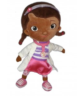 Doudou Docteur LA PELUCHE - Mc Stuffins - H 32 cm Disney Store London Original