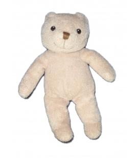Doudou peluche OURS beige IKEA Plush bear - Blund - H 25 cm