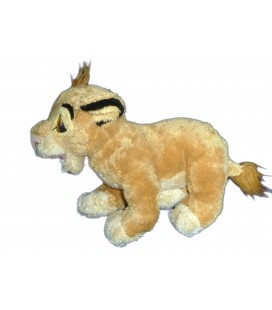 Peluche Doudou Simba Le Roi Lion DISNEY Nicotoy L 26 cm