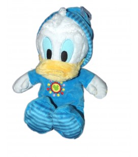 Doudou Peluche DONALD Pyjama Disney Mickey Mouse Club House H 28 cm 587/8618