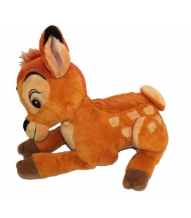 BAMBI Peluche Disney Authentique Disneyland Paris L 32 cm