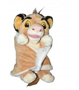 Doudou peluche LE ROI LION - Couverture - Disney Nicotoy 25 cm 587/6844