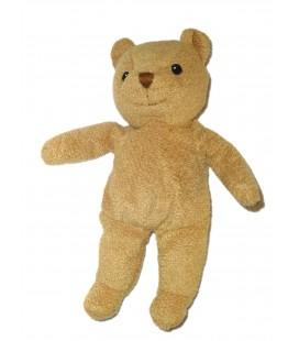 Doudou ours beige marron Ikea Blund 25 cm