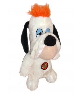 Peluche doudou DROOPY mèche orange 26 cm I'm Happy