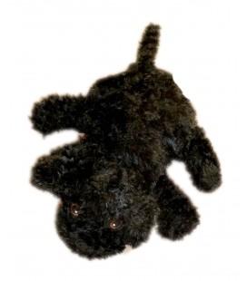 Doudou peluche Marionnette Chien Noir Klappar Djur - IKEA - Black puppy dog