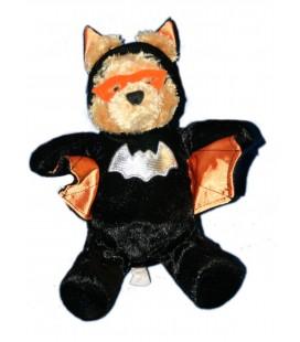 Collector - Peluche WINNIE L'OURSON Déguisé en chauve Souris Batman Halloween H 24 cm Disney Disneyland Resort