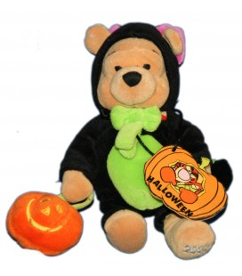 COLLECTOR - Doudou Peluche WINNIE L'OURSON Halloween H 24 cm Pooh Plush Disney Store London