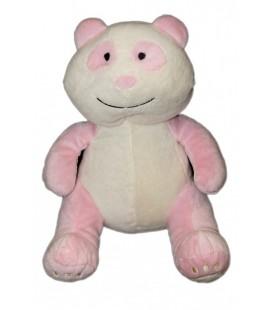 Doudou peluche OURS Koala Panda DUFFI Baby - Rose et blanc - 30 cm