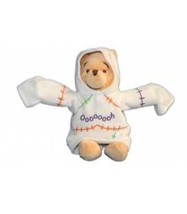Collector - Peluche WINNIE L'OURSON Déguisé en Fantôme PH Ghost H 22 cm Disney Disneyland Resort