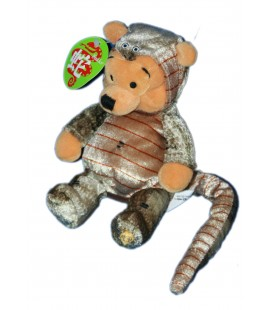 COLLECTOR 2001 - Doudou Peluche WINNIE L'OURSON Serpent H 20 cm Snake Pooh Disney Store