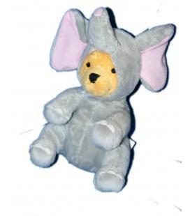 Peluche Doudou WINNIE 20 cm Deguise en Elephant Disney Nicotoy