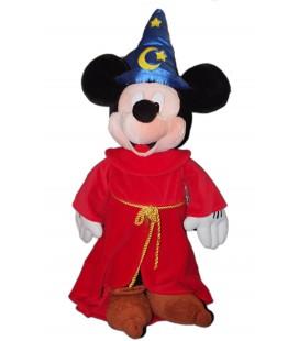 Exceptionnel !! XXL - Peluche Géante - Mickey Magicien Fantasia - Disneyland Paris - 80 cm