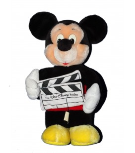 Peluche Mickey Walt Disney World Studios Disneyland 36 cm Vintage - Rare et Collector