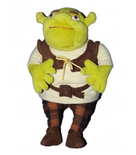 Peluche Doudou Shrek - Gosh International - H 22 cm - Dreamworks 2004
