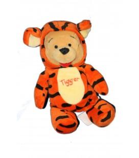 Pooh as Tigger COLLECTOR Peluche Doudou Winnie l'Ourson déguisé en Tigre Tigrou 20 cm Disney Store