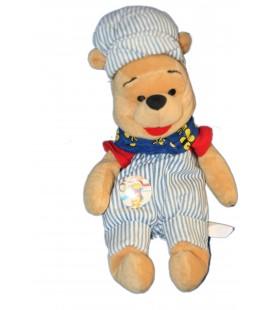 COLLECTOR Peluche Doudou Winnie l'Ourson Choo Choo Pooh 22 cm Disney Store