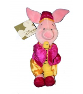 COLLECTOR Peluche Doudou Porcinet Musicien 24 cm Disney Store