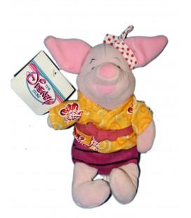 COLLECTOR Peluche Doudou Porcinet Chemise Jaune Piglet 22 cm Disney Store