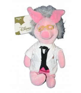 COLLECTOR Peluche Doudou Porcinet Professeur - Teacher Piglet 22 cm Disney Store