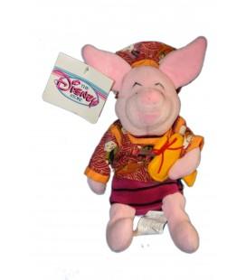 COLLECTOR Peluche Doudou Porcinet Japonnais Japanese Piglet 22 cm Disney Store
