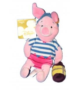 COLLECTOR Peluche Doudou Porcinet Pirate Piglet 22 cm Disney Store