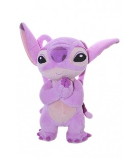 Doudou peluche Angel LILO ET STITCH 22 cm + oreilles Disneyland Resort Paris