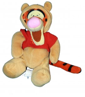 COLLECTOR - Doudou Peluche Tigrou Tigger as Pooh 20 cm Disney Store London