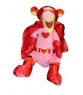 COLLECTOR - Doudou Peluche Tigrou Coeur Super Love Tigger 23 cm Disney Store