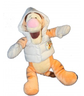 COLLECTOR - Doudou Peluche Tigrou Neige Pastel Winter Ski 22 cm Disney Store
