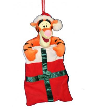 chaussette de nol tigrou peluche tigrou 42 cm disney - Chaussette De Noel Disney