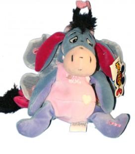 Collector - Peluche Doudou Bourriquet Papillon Love Bug Eeyore Disney Store Exclusive 20 cm