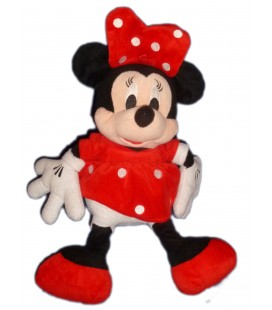 Peluche doudou MINNIE Disney Mc Network LTD 2009 32 cm A suspendre