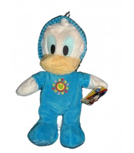 Doudou Peluche DONALD Pyjama Disney Mickey Mouse Club House H 28 cm 587/8618 NEUF ETIQU.