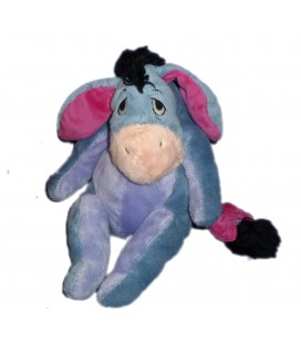 Doudou peluche Bourriquet Disney Nicotoy 26 cm Queue à scratch 587/3438