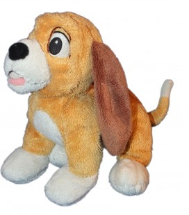 Doudou peluche Chien ROX ET ROUKY Authentique Disney Disneyland Resort Paris 25 cm
