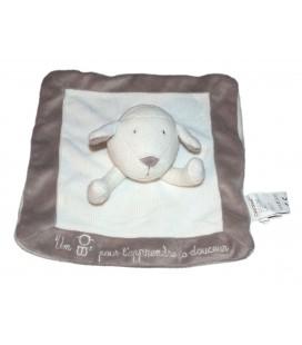 Doudou Mouton Plat OBAIBI Okaidi agneau Pour t'apprendre La Douceur