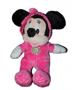 Peluche doudou MINNIE Pyjama Capuche rose Disney Nicotoy 587/8618 30 cm