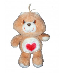 VINTAGE - Peluche BISOUNOURS Care Bear Plush Grosbisou 32 cm Kenner Rare et collector !